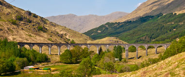 Glenfinnan Viaduct Royalty Free Stock Images