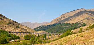 Glenfinnan Viaduct Stock Photo