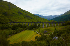 Glenfinnan Viaduct Royalty Free Stock Photography