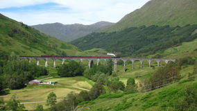 Glenfinnan Viaduct stockbild