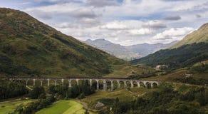 glenfinnan viaduct Стоковое Изображение RF