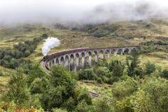 Glenfinnan Viaduct Lizenzfreies Stockbild