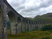 Glenfinnan viaduct Royalty Free Stock Photo