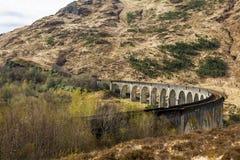 Glenfinnan Viaduct Stock Photo