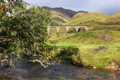 Glenfinnan Viaduct, Scotland Stock Image