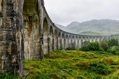 Glenfinnan Viaduct, Scotland, UK Royalty Free Stock Photos