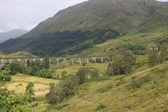 Glenfinnan viaduct, Scotland royalty free stock images