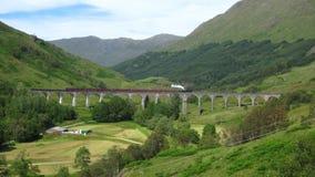 Glenfinnan Viaduct stock image