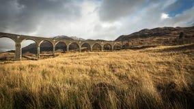 Glenfinnan viadukt, Januari 2015 Royaltyfria Foton