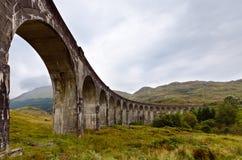 Glenfinnan viadukt, Skottland Royaltyfri Bild