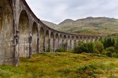 Glenfinnan wiadukt, Szkocja Obraz Stock