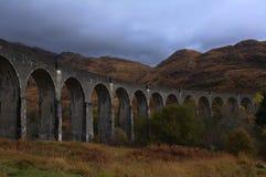 Glenfinnan wiadukt w jesieni Zdjęcie Royalty Free