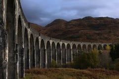 Glenfinnanviaduct in de herfst Royalty-vrije Stock Afbeelding