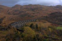 Glenfinnanviaduct in de herfst Royalty-vrije Stock Afbeeldingen