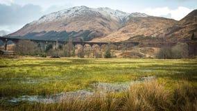 Glenfinnanviaduct, Januari 2015 Royalty-vrije Stock Fotografie