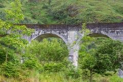 Glenfinnanviaduct, Schotland Royalty-vrije Stock Afbeelding