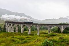 Glenfinnanviaduct, Schotland, het UK royalty-vrije stock afbeelding