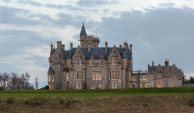 Glengorm Castle. Also known as Castle Sorn, is a 19th-century country house on the Isle of Mull, Scotland royalty free stock photos