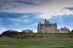 Glengorm Castle on the Isle of Mull Stock Photos