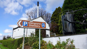 Glengoynedistilleerderij Stock Fotografie
