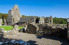 Glenluce修道院,苏格兰 免版税库存照片