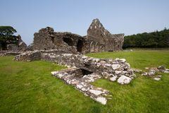 Glenluce abbotskloster Royaltyfri Foto