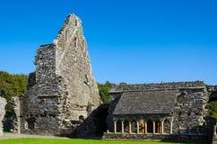 Glenluce abbotskloster, Skottland Arkivfoto