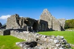 Glenluce-Abtei, Schottland Lizenzfreies Stockfoto