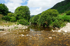 Glenmalure valley Royalty Free Stock Images