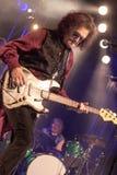 Glenn休斯在音乐会旅行居住2017年, 库存图片