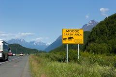 Glenn autostrada, Alaska zdjęcie stock