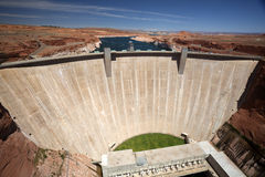 Glenn Canyon Dam Royalty Free Stock Image