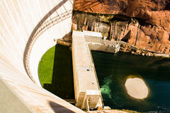 Glenn Canyon Dam stock afbeeldingen
