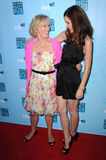 Glenn Close,Rose Byrne Royalty Free Stock Photo