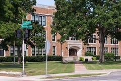 Glenn Frey Drive, old Dondero High School, MI Stock Image