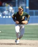 Glenn Hubbard, Oakland Athletics royalty-vrije stock foto's