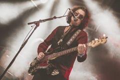 Glenn Hughes live in concert tour 2017, Royalty Free Stock Photos