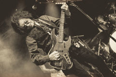 Glenn Hughes live in concert tour 2017, Royalty Free Stock Images