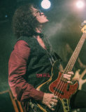 Glenn Hughes live in concert tour 2017, Royalty Free Stock Photography