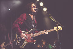 Glenn Hughes live in concert tour 2017, Royalty Free Stock Image