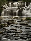 Glenn Park Falls im Büffel, NY stockfotografie