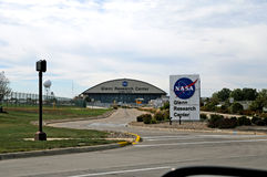 Glenn Reseach Center na NASA Imagens de Stock Royalty Free