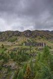 Gleno dam,Italy Royalty Free Stock Photos