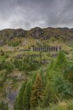 Gleno dam,Italy Royalty Free Stock Images