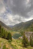 Gleno dam,Italy Stock Photos