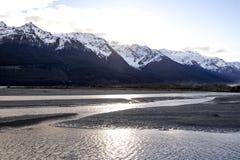 Glenorchy на Otago, Новой Зеландии стоковое изображение rf