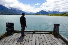 Glenorchy Новая Зеландия NZ NZL стоковые изображения rf
