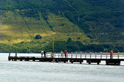 Glenorchy - Новая Зеландия NZ NZL Стоковая Фотография