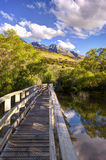 Glenorchy Lagoon, New Zealand Royalty Free Stock Photos