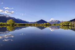 Glenorchy Lagoon, New Zealand Royalty Free Stock Photography